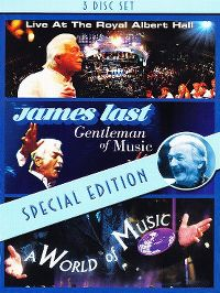 Cover James Last - Live At The Royal Albert Hall / Gentleman Of Music / A World Of Music [DVD]